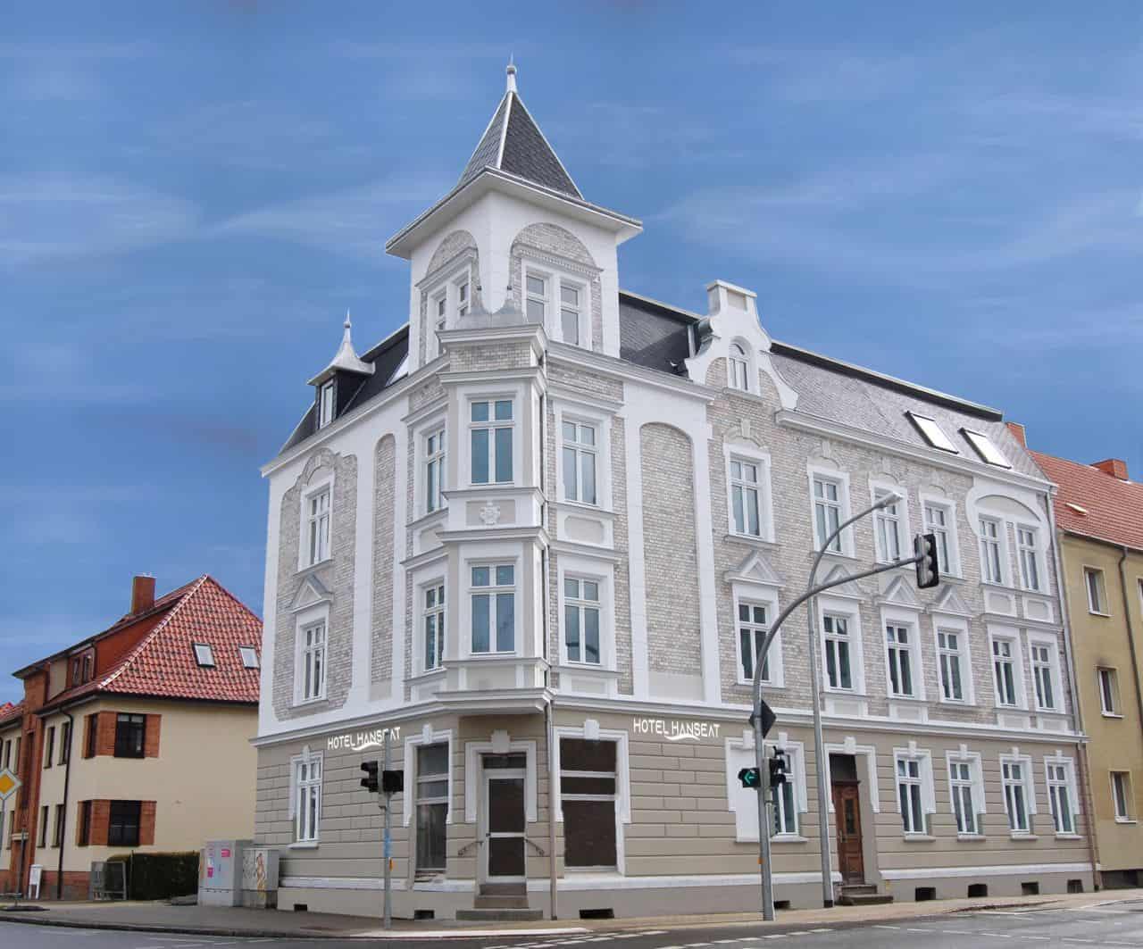 Hotel Hanseat Stralsund - Aussenansicht